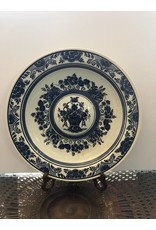 Blame Delft Blue and White Plate