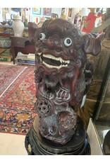 Wood Foo Dog