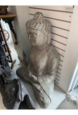 Life Size Stone Seated Buddha