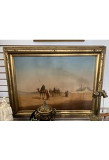 Desert Landscape Oil on Canvas (Signed lower right)
