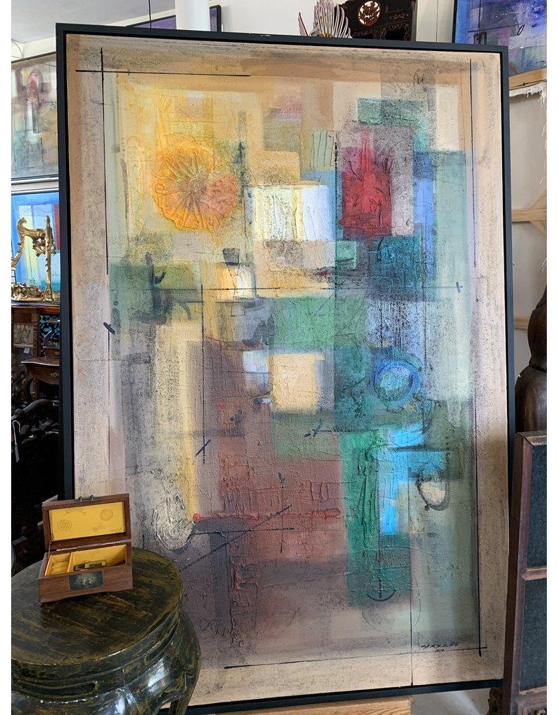 "Carreño Painting 74"" x 78"""