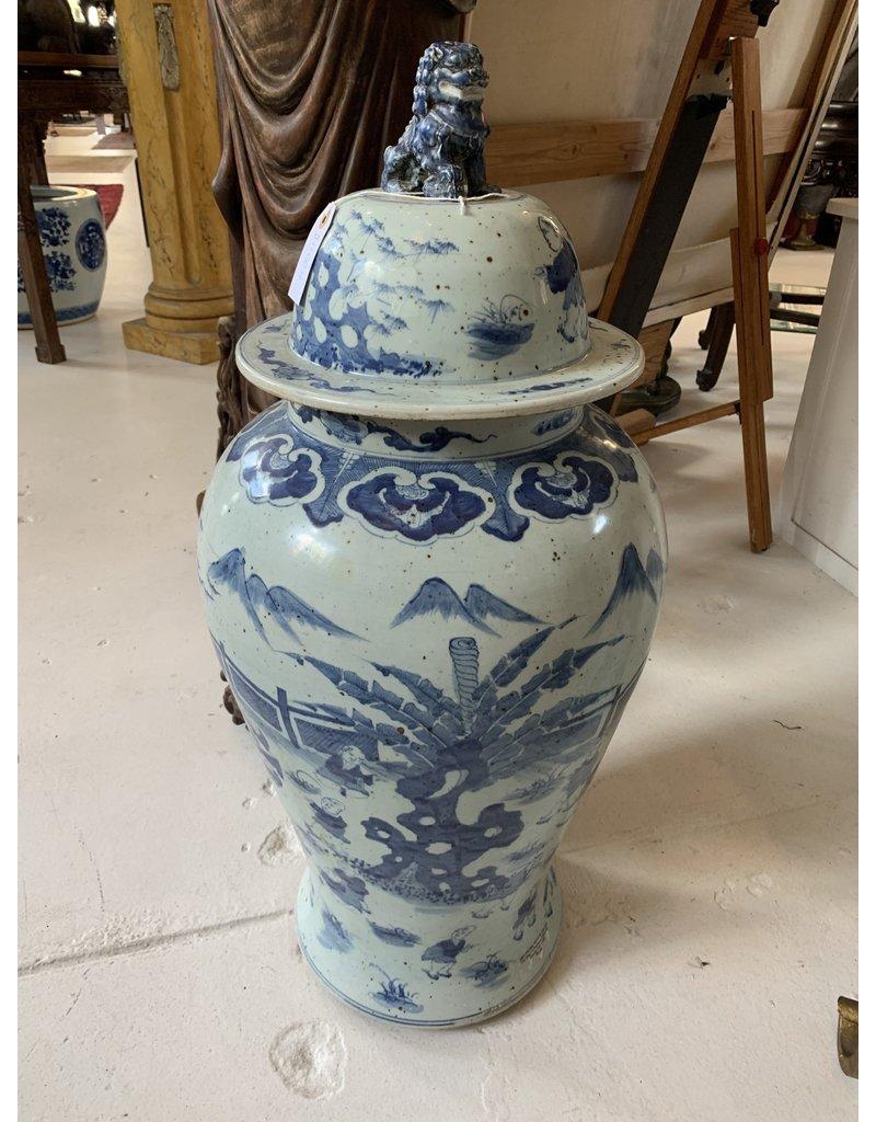 Chinese Blue/White Urn