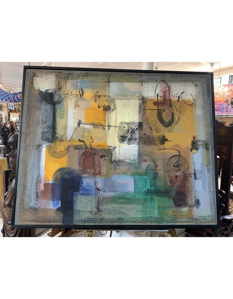 "Carreño Painting 50"" x 64"""