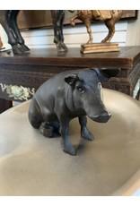 Cast Iron Pig Piggy Bank