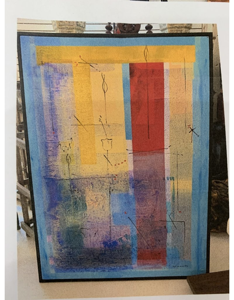 Carreño Painting 69 x 49 inches