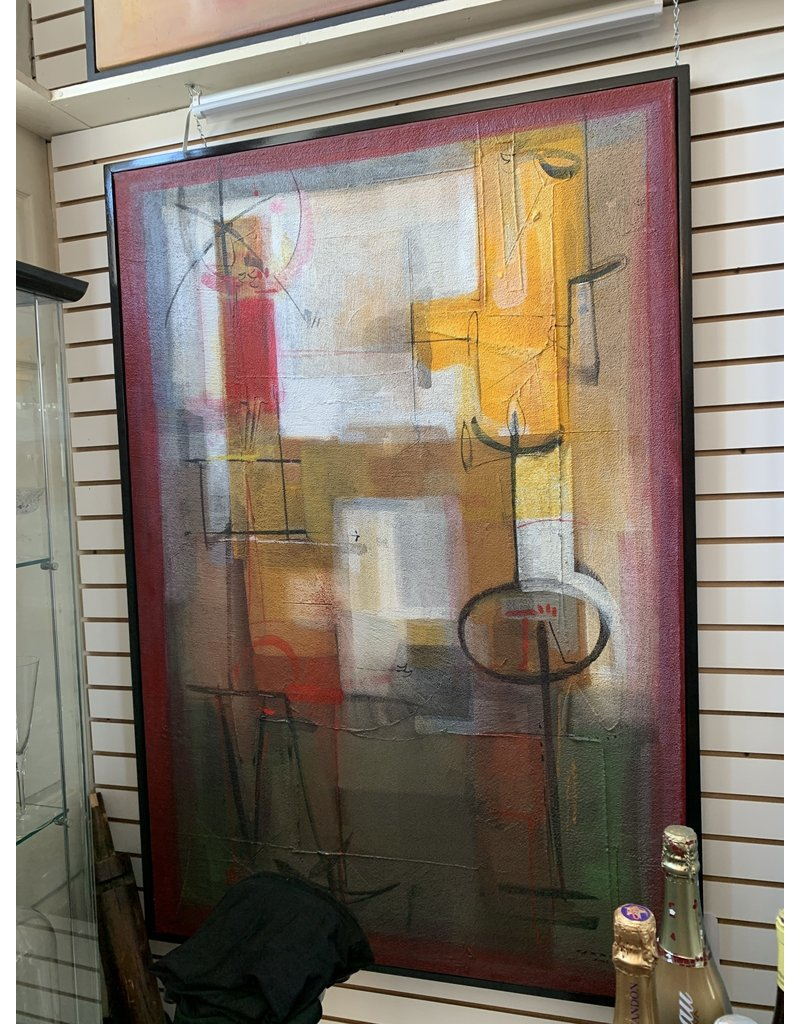 Carreño Painting 54 x 45 inches