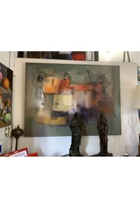Carreño Painting 54 x 72 inches (Consigned)