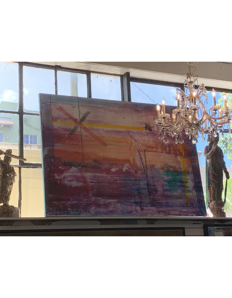 Carreño Painting 68 x 47 inches