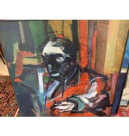 Jerry Savage Mid-Century Painting