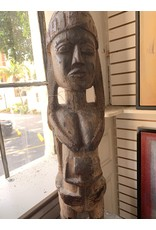 Carved Wood Fertility Statue