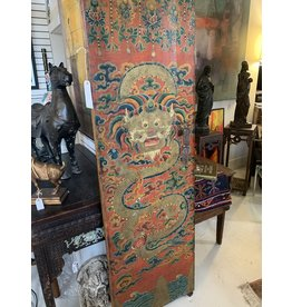 PolyChrome Dragon Chinese Door