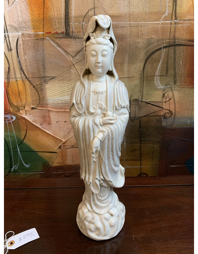 Blanc De Chine Standing Quan Yin