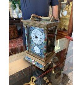 Gilt Bronze Cloisonné Repeater Clock