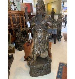 Life Size Bronze Guan Yu Chinese General