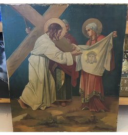 Painting of Jesus and his Burial Cloth
