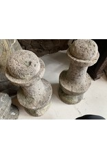 Cement Chess Pieces (Pair)