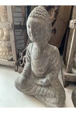 Seated Stone Carved Buddha