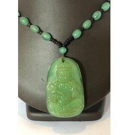 Jadeite Buddha Necklace