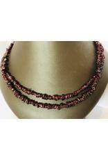 Pomegranate Stone Necklace