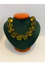 Large Amber-Like Beads