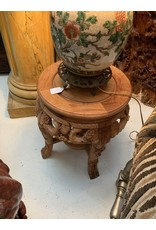 Chinese Hand Carved Base