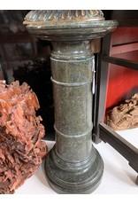 Green Marble Pedestal