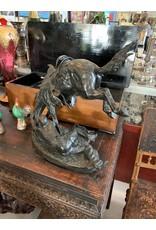 Bronze Remington Sculpture