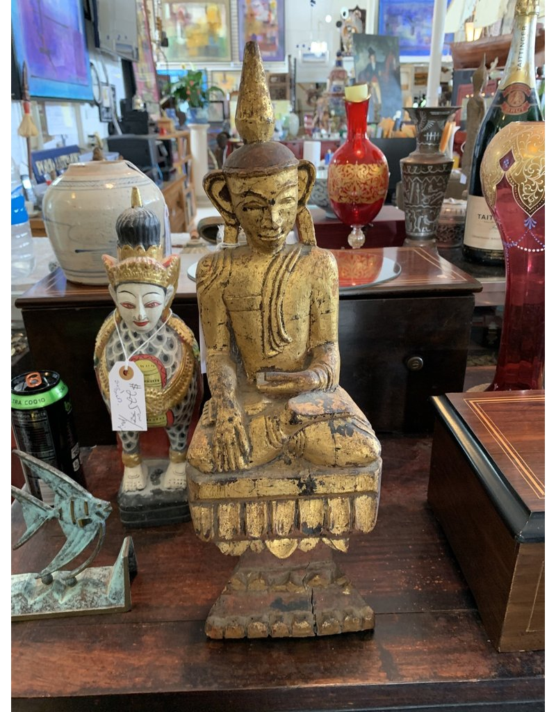 Gilt Hand Carved Buddha