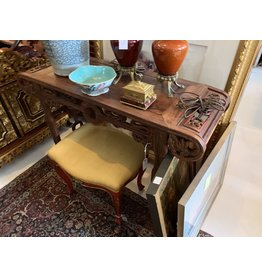 Hand Carved Wood Chinese Alter Table