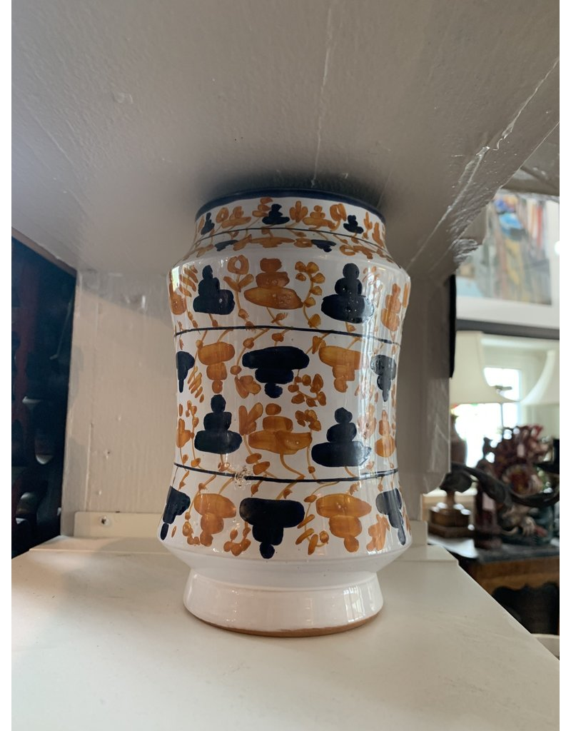 Hand Painted Vases (Pair)