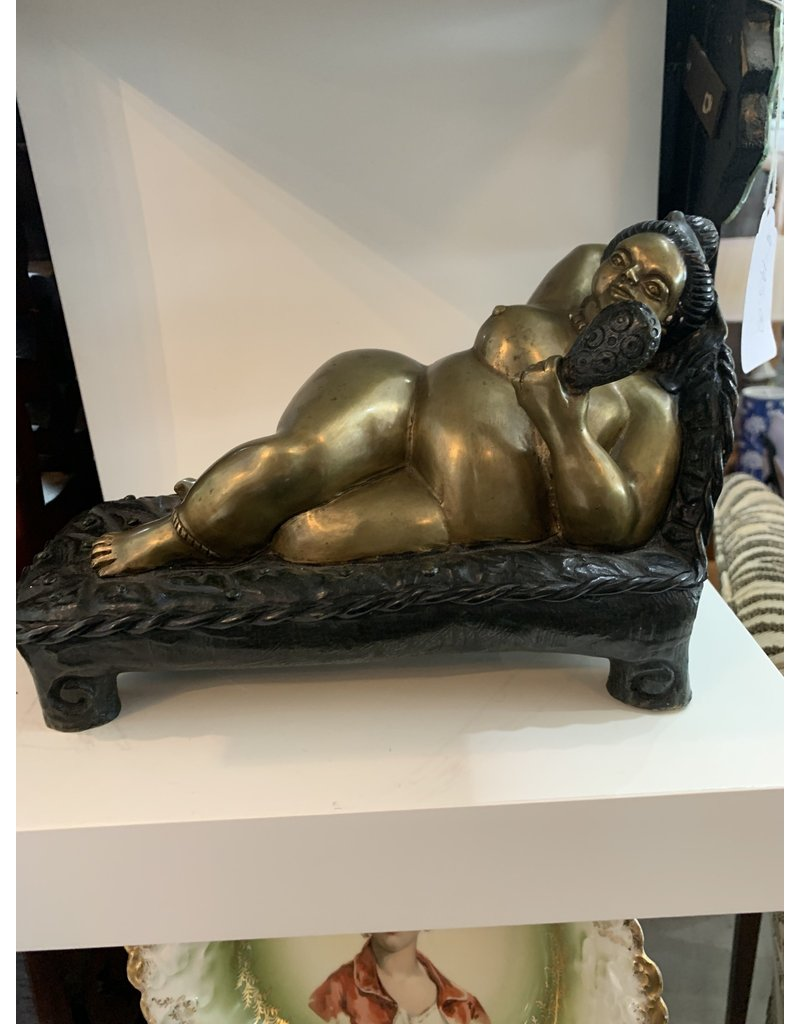 Bronze Recline Nude