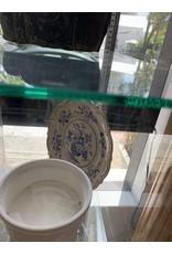 Early Ridgway English Blue & White Portland Basket Transferware Plate 1814-1830