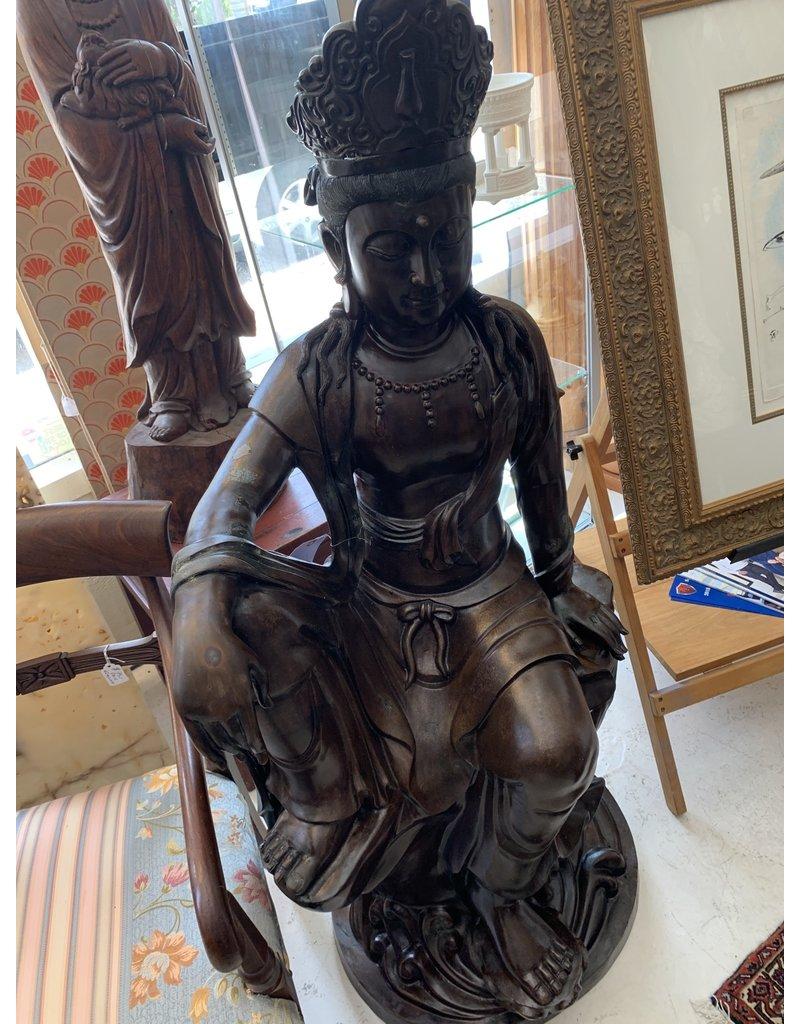 Bronze Seated Quan Yin