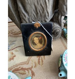 Painted Portrait of Woman