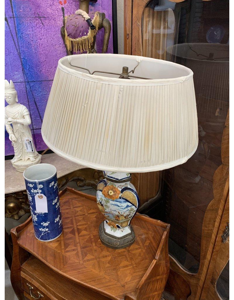 19th Century Dutch Lamp (As Is)