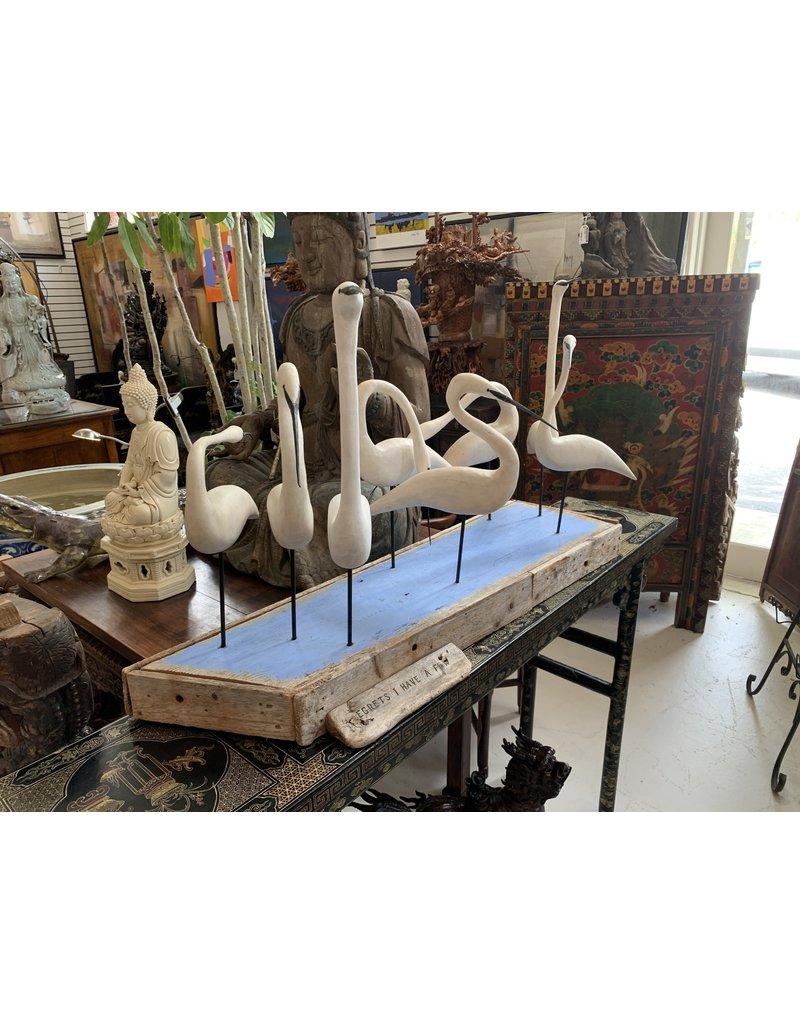 Egret Statue (ATC)