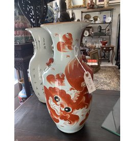Hand Painted Chinese vase (pair)
