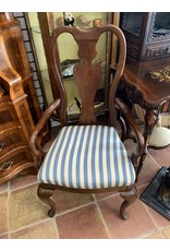 Blue/White Striped Chairs (Set of 4) (Guppy)