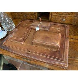 Italian Leather Desk Set