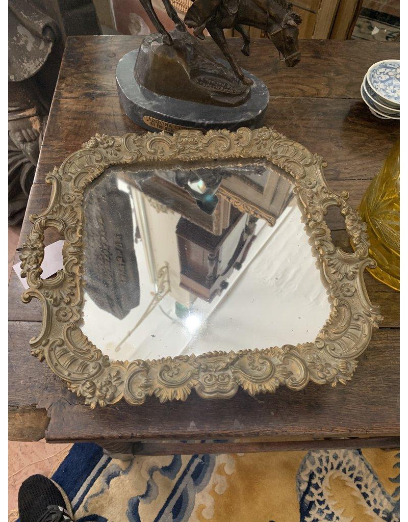 Mirror/Bronze Tray