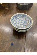 Blue/White Chinese Dishes (Set of 3)