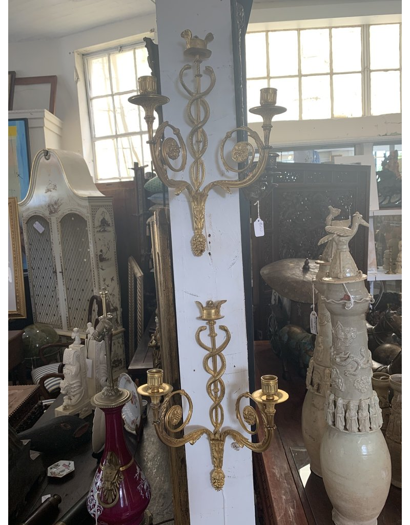 Bronze Sconces (Pair)