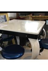 mid-Century table & stools