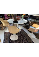 Saarinen Style Table w/3 Tulip Chairs