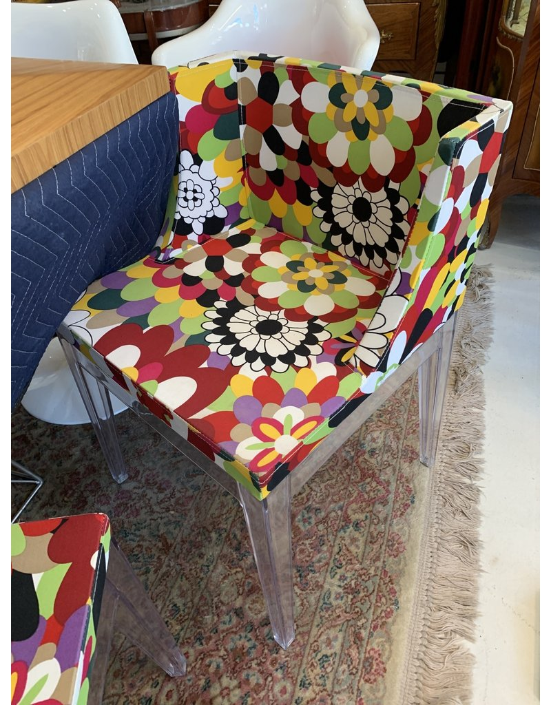 Kartell Style Chairs Missoni Fabric (500 each)