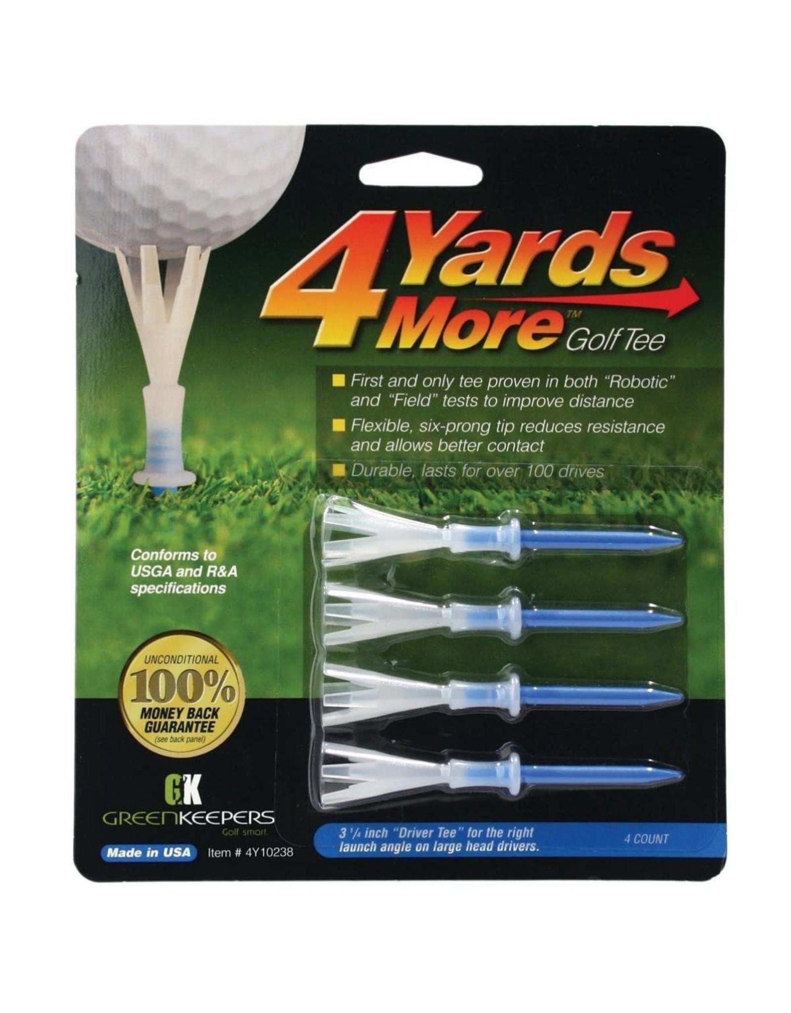 4 Yards More Golf Tee