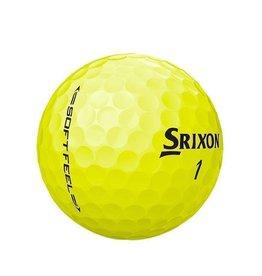 Srixon Srixon Logo Yellow Soft Feel Dozen