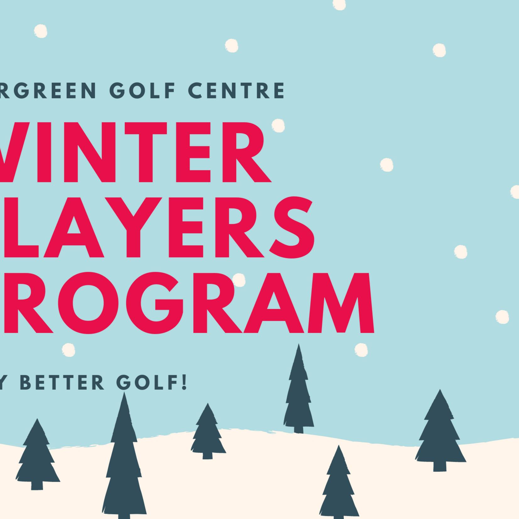 Winter Players Program Intermediate Session 2