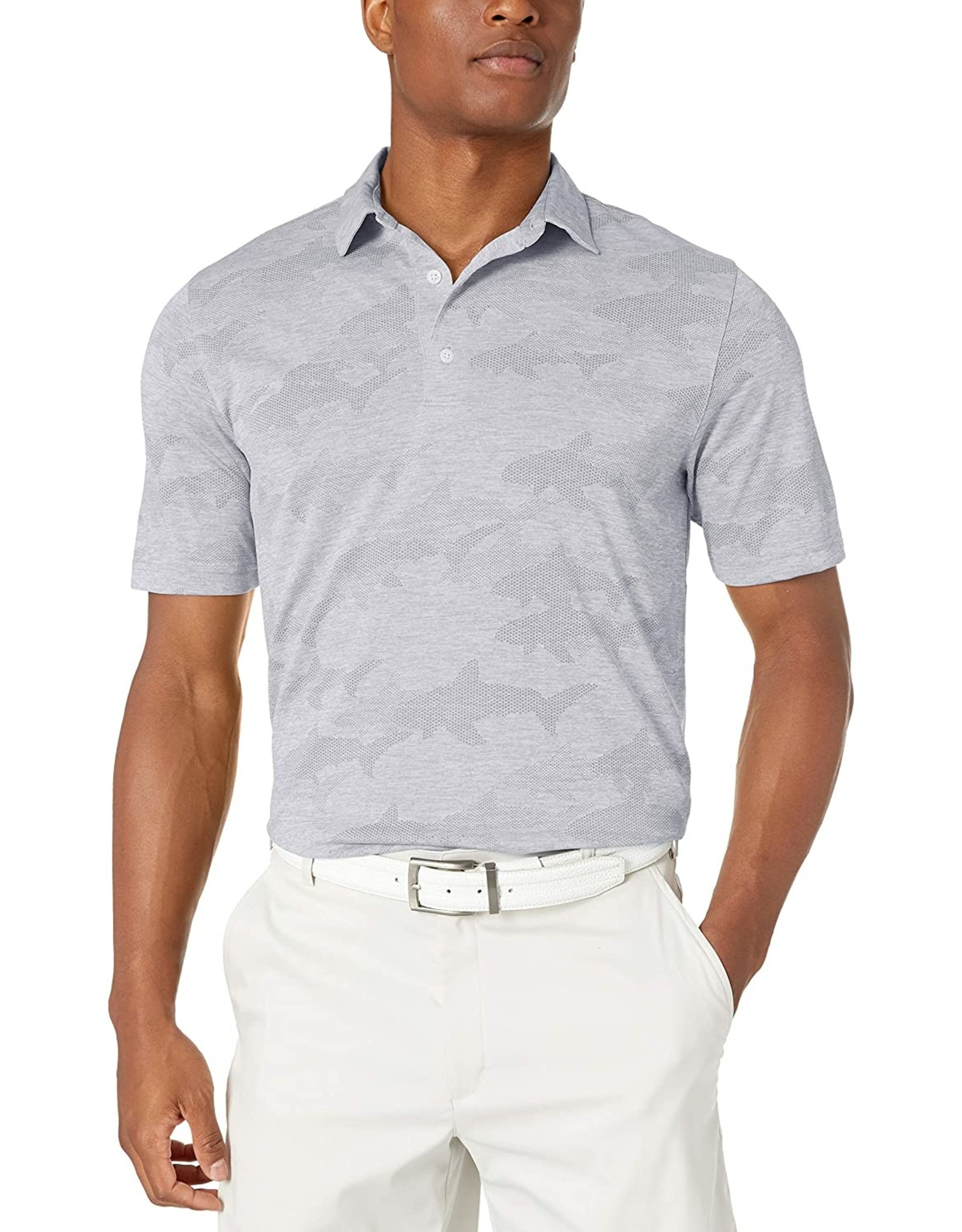 Greg Norman Apparel GN Shark jacquard