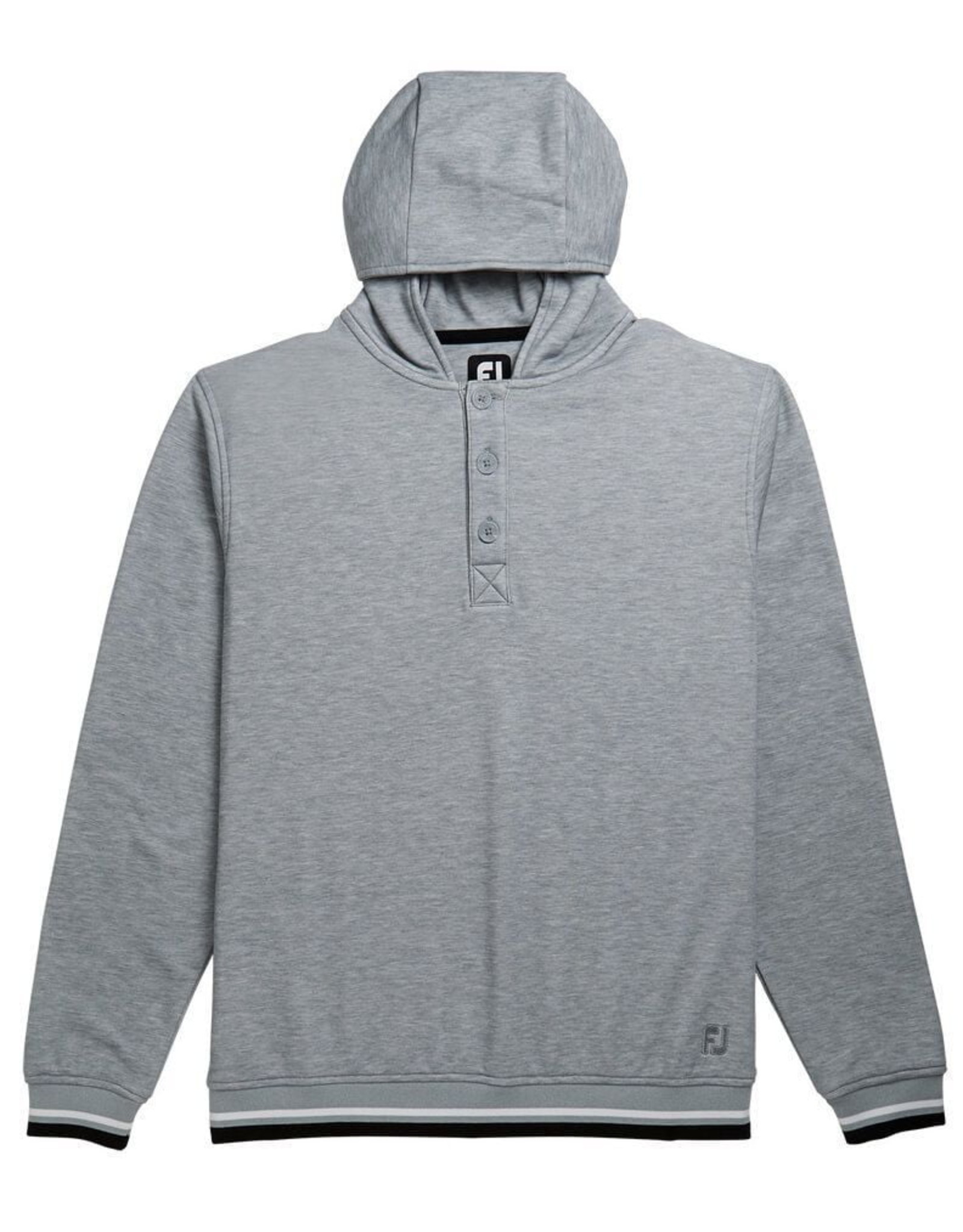 Footjoy FJ 25120 Jersey Fleece Hoodie Grey Medium